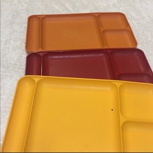 Tupperware TV trays